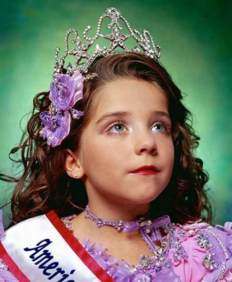 Andres Serrano, America (Jewel-Joy Stevens, America's little Yankee Miss) (from the portfolio America: Now + Here) 2003, Digital C-print