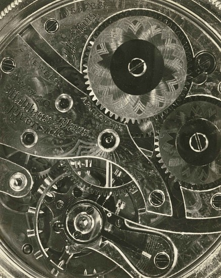 Bernice Abbott, Watch Gears 1940s; Printed c 1940s, Gelatin silver print (black & white)