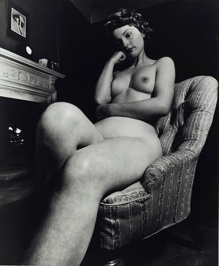 Bill Brandt, Nude 1953; printed 1960s, Gelatin silver print (black & white)